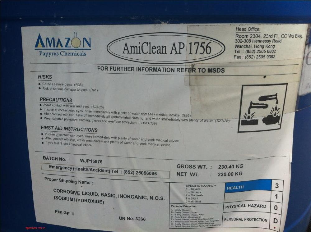 Chất giặt chăn lưới AmiClean 1756
