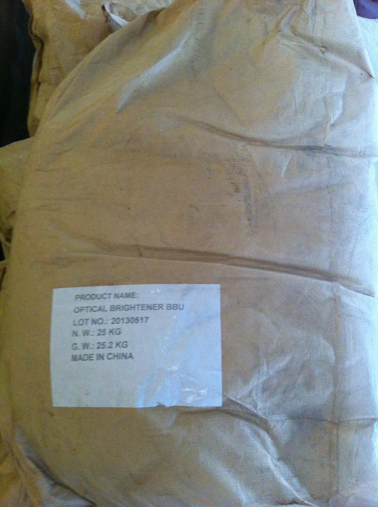 Chất tăng trắng Optical Brightener BBU (bột, 25kg/bao)