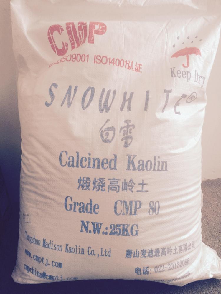 Cao lanh nung Snowhite 86