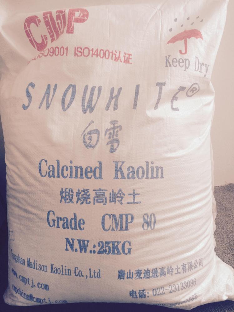 Cao lanh nung Snowhite 75